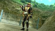 Kamen Rider Ghost intro in Battride War Genesis