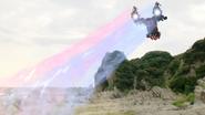 Drive & Mach's Double Rider Kick Step 1 - Cyclone
