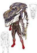 T-Rex Dopant concept art