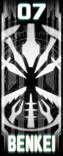 KRGh-Benkei Ghost Eyecon (Top Sticker)
