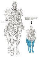 Horse Orphnoch Dash Form concept art