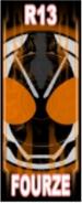 KRGh-Fourze Ghost Eyecon (Top Sticker)