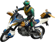 Zeronos riding Zerohorn