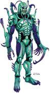 Gryllus Worm concept art