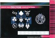 KRDCD-Decade Complete Card (Back)
