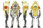 Kamen Rider Necrom Sanzo Damashi concept art
