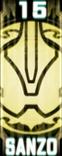 KRGh-Sanzo Ghost Eyecon (Top Sticker)