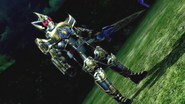 Kamen Rider Blade King Form intro in Battride War Genesis