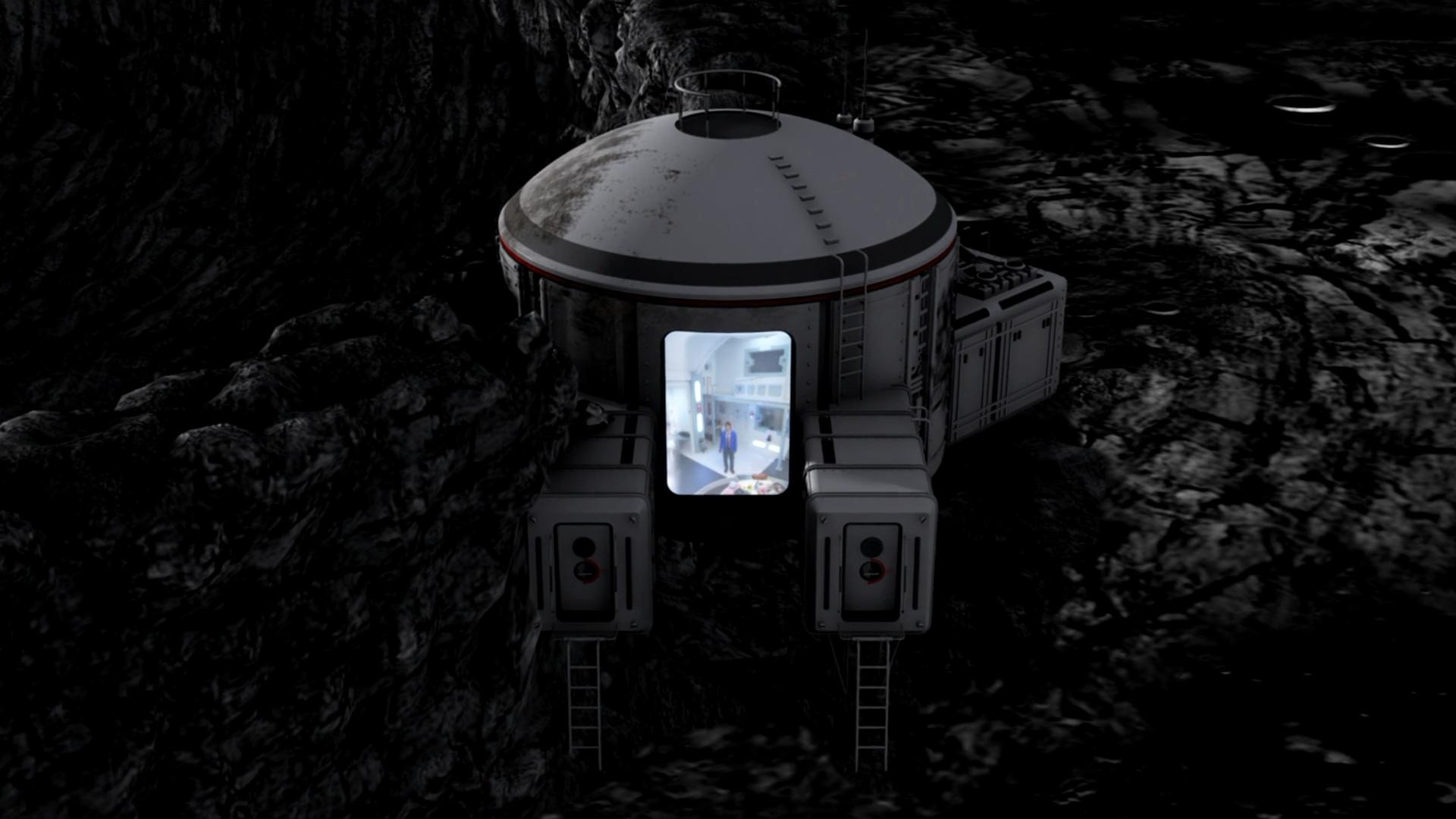 Disappearing Moon Door