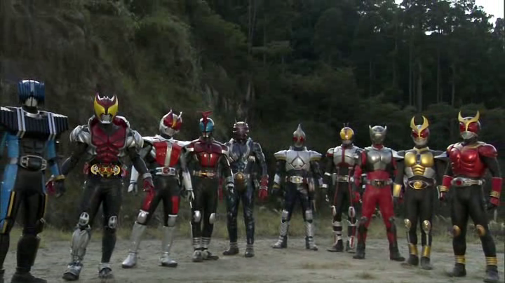 Nine Heisei Riders (A.R. World)