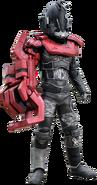 KREA-Collabos Bugster Proto Robots