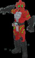 Kamen Rider Amazons Alpha in City Wars