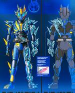 Kamen Rider RampageVulcan Concept Art