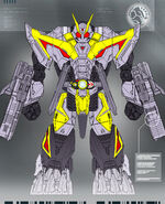 Kamen Rider Zero-One Breaking Mammoth Concept Art