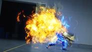 Lock Mega Slash + Cross-Z Dragon Let's Break Step 2