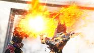 Cross-Z Magma Smash Slash
