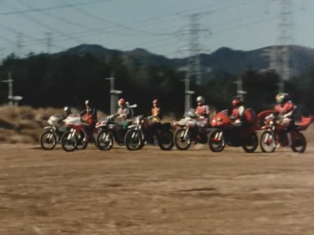 The Tank and the Second Generation Monster Corp: Full Force of Eight Riders