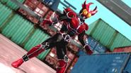 Kamen Rider Agito Burning intro in Battride War Genesis