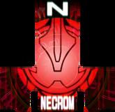 KRGh-Dark Necrom Red Ghost Eyecon (Top Sticker)