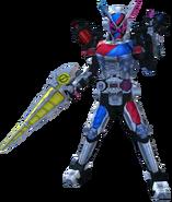 Kamen Rider Zi-O Build Armor in City Wars