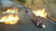 MetsubouJinrai destroyed the bodies