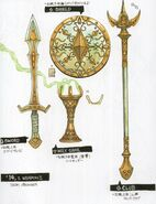 Jashin-14's Weapons concept art