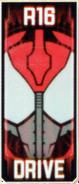 KRGh-Drive Ghost Eyecon (Top Sticker)