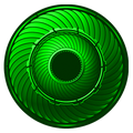 KRGh-Ghost Eyecon Standby Time (Green)