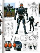Kamen Rider G3X concept art