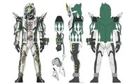 Kamen Rider Necrom Grimm damashi concept art
