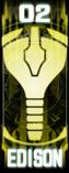 KRGh-Edison Ghost Eyecon (Top Sticker)