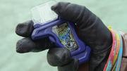 Nico with Bang Bang Shooting Gashat.png