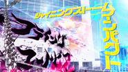 Flying Utopia vs Shining Storm Impact Captions
