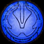 KRGh-Dark Necrom Blue Ghost Eyecon (Transformation Time)