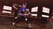 Kamen Rider Gatack Cast Off intro in Battride War Genesis