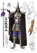 Armored Warrior Inhumanoid concept art