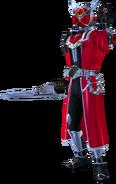 Kamen Rider Wizard Flame Dragon in City Wars