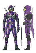Kamen Rider Shinobi concept art