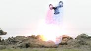 Drive & Mach's Double Rider Kick Step 5 - Finale
