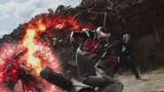 Wizard fight in Heisei Generations Forever