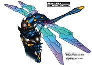 Raydragoons Flying Style concept art