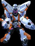 Kamen Rider Zi-O Fourze Armor in City Wars