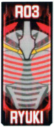 KRGh-Ryuki Ghost Eyecon (Top Sticker)