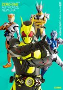 Kamen Rider Zero-One Official Perfect Book