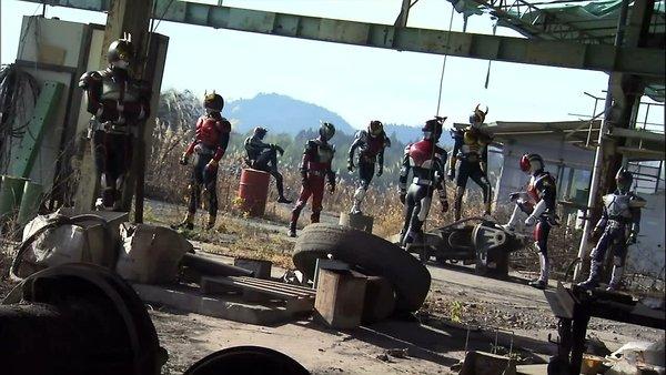 Nine Heisei Riders