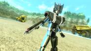 Kamen Rider Diend intro in Battride War Genesis