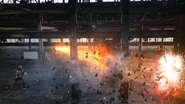 Noko Setsuzan + Burning Sun Explosion Step 4