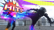 Mighty Critical Strike (Genm Level 2) (Spinning Kick) Step 2