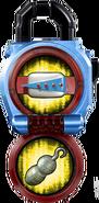 KRGa-Riderman Lockseed opened