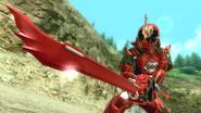 Kamen Rider Ghost Toucon Boost Damashii intro in Battride War Genesis